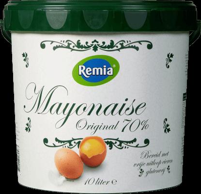 Remia mayonnaise original 70%  10L