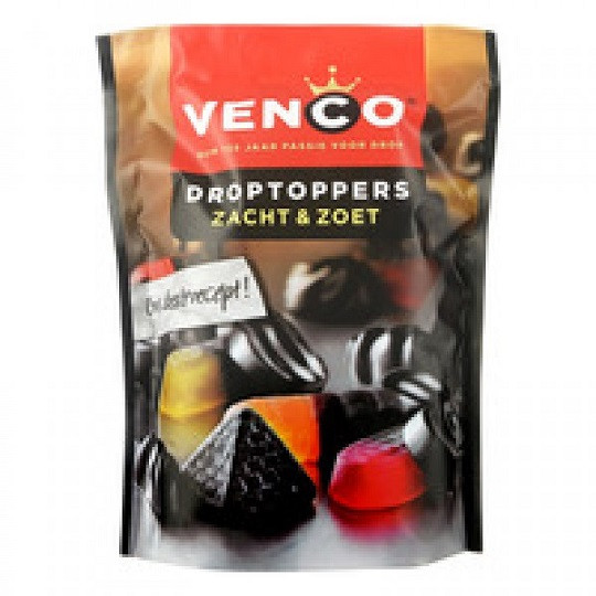 Venco Droptoppers Zacht & Zoet 287 g