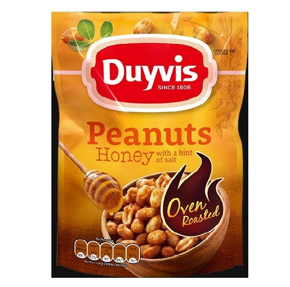 Duyvis Oven Roasted pinda's honey roasted 175gr