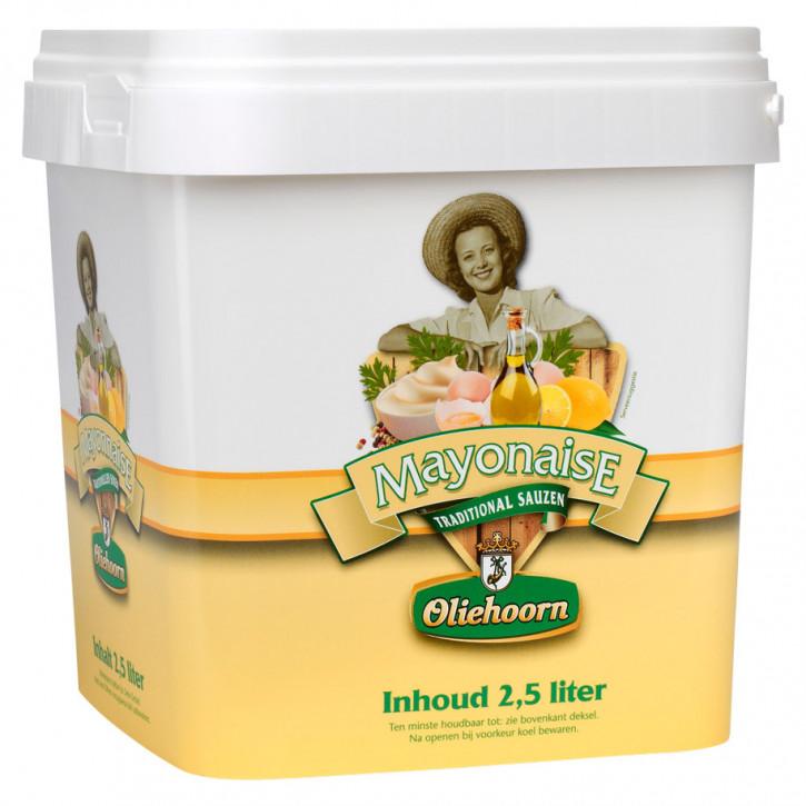 Oliehoorn Mayonaise 80% 2,5KG