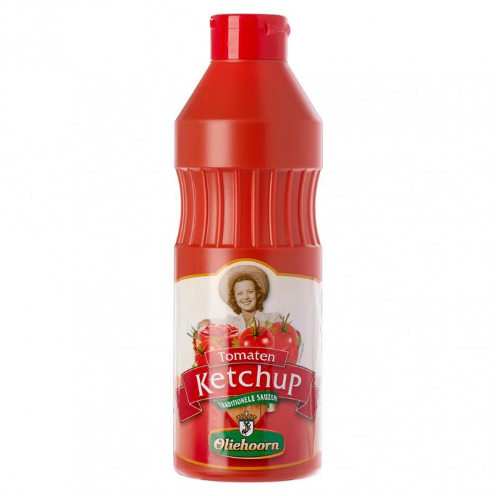 Oliehoorn Tomatenketchup knijpfles 900ml