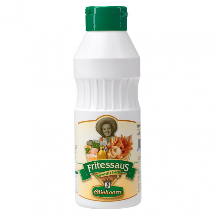 Oliehoorn Fritessaus 25% knijpfles 450ml (Frittensauce mit 25% Öl)