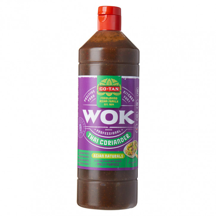 Woksauce thai koriander asia naturals 1Liter