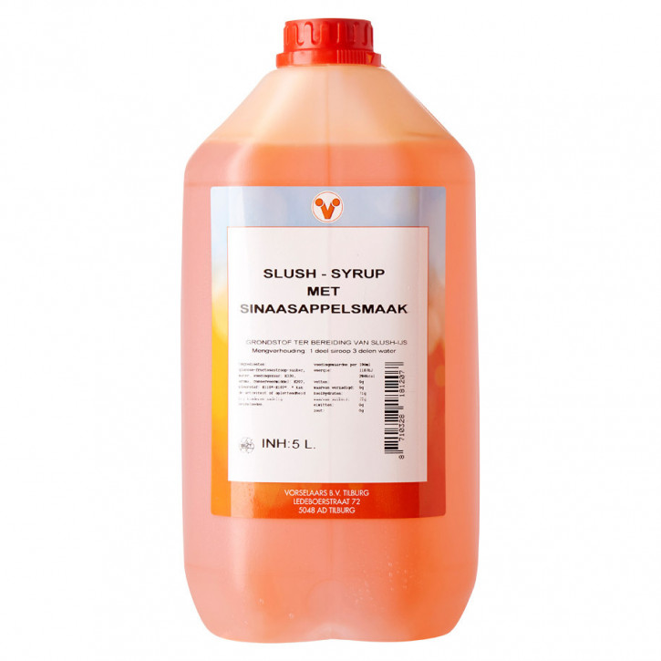 Slush Sirup Orange 5Liter