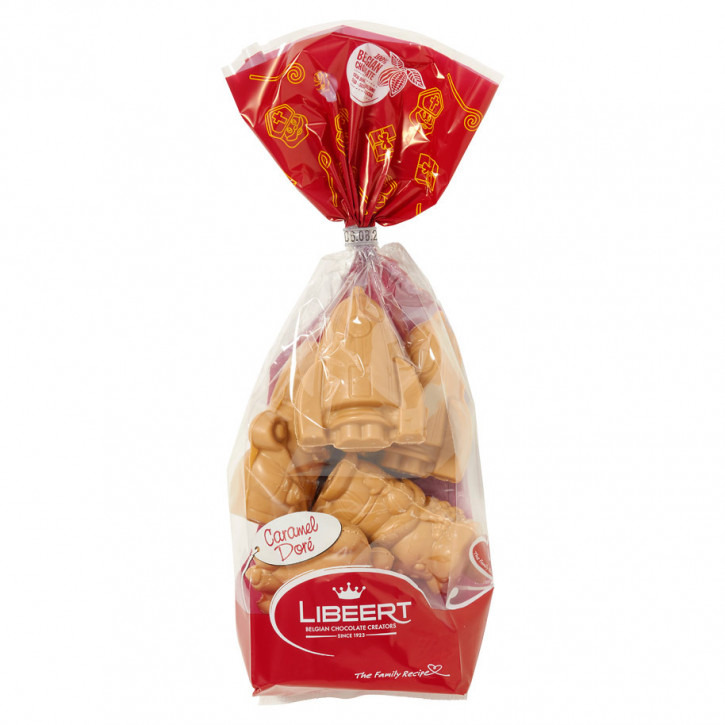 Libeert Sintfiguren caramel doré 175g
