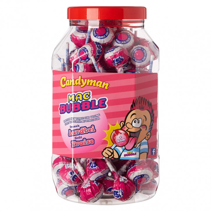 Mister bubble Erdbeere Geschmack