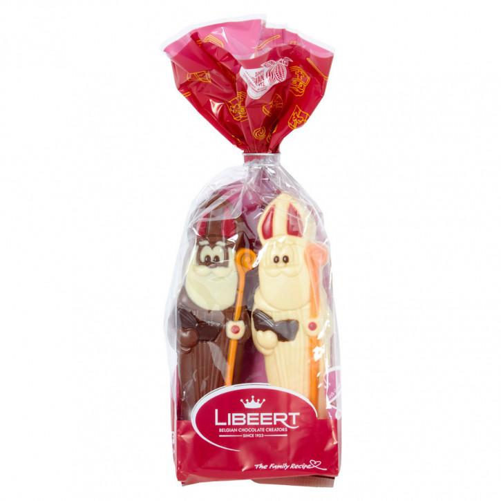 Libeert Sint duo pack multicolor 1x melk + 1x wit