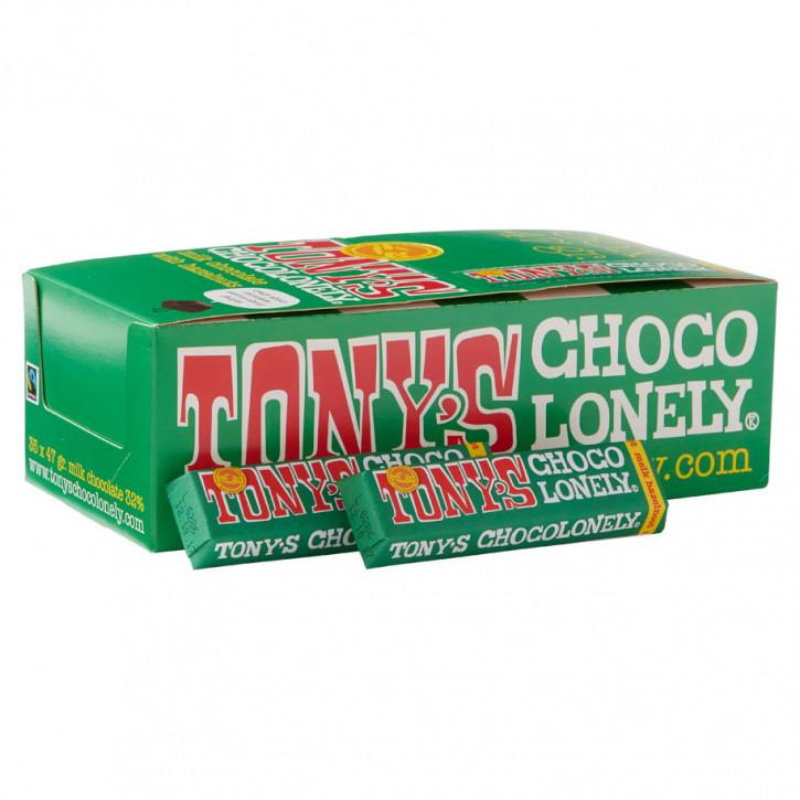 Tony's Chocolonely Melk Hazelnoot 47g
