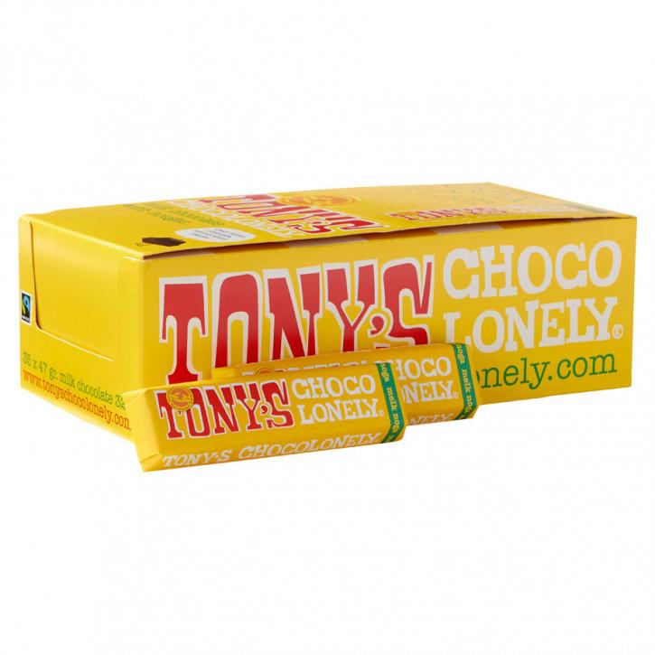 Tony's chocolonely milchschokolade 47gr