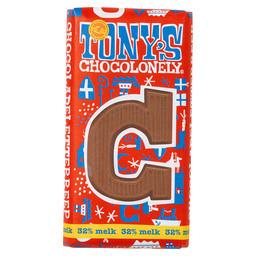 Tony's Buchstabenriegel Milchschokolade C