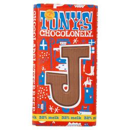 Tony's Buchstabenriegel Milchschokolade J