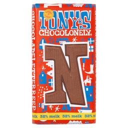 Tony's Buchstabenriegel Milchschokolade N