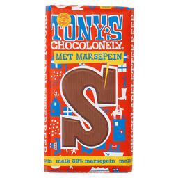 Tony's Buchstabenriegel Milchschokolade Marzipan S