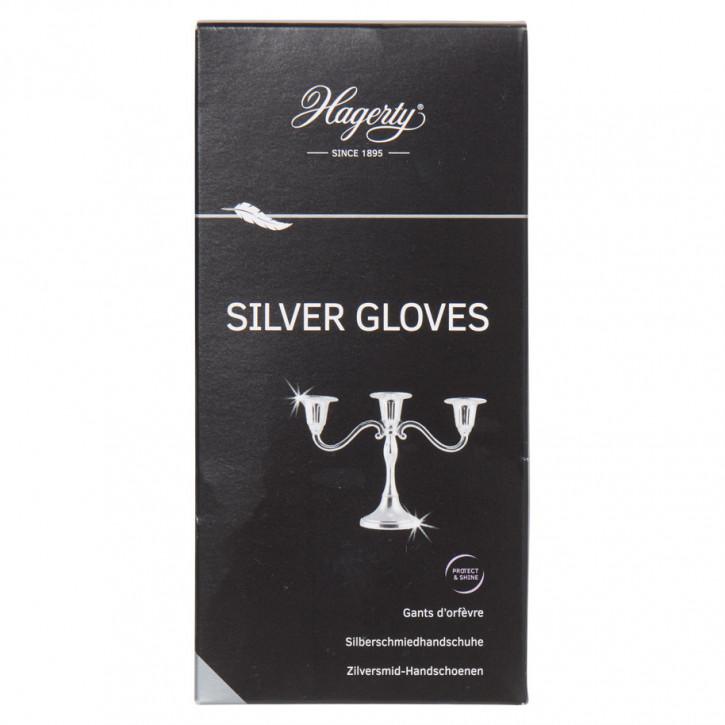 Silber Handschuh 1 Paar