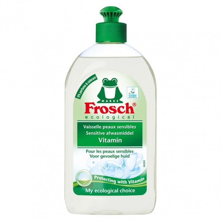 Frosch Spülmittel sensitive vitamin 500ml