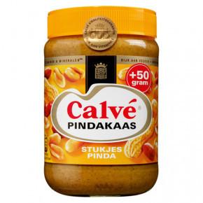 Calve Pindakaas Erdnussbutter mit Stückchen Nuss 1000g