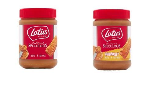 1x Lotus The Original Speculoos 400g 1x Lotus Crunchy Pasta 400g