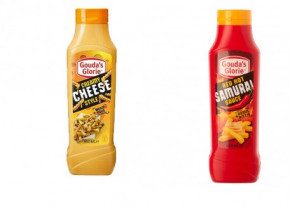 1x Creamy cheese style 850ml, 1x Red Hot Samurai Sauce Soße 850ml