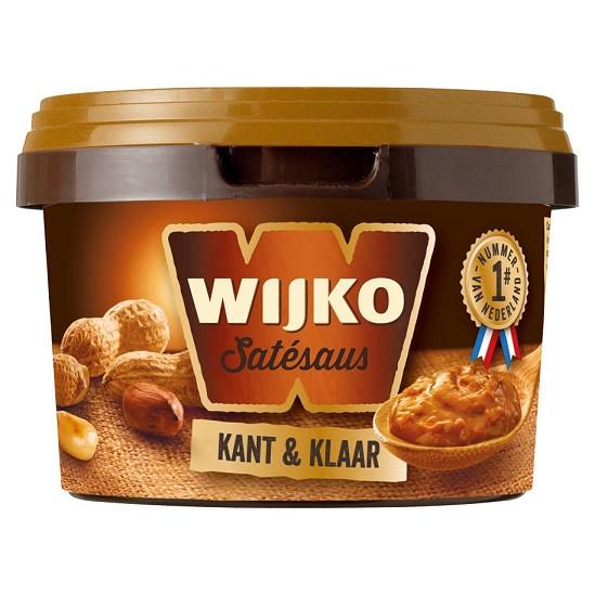 Wijko Satésaus Kant & Klaar Fertige Erdnusssoße 500ml