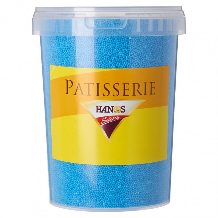 Zuckerdekor Eisstreusel Blau 1,3Kg
