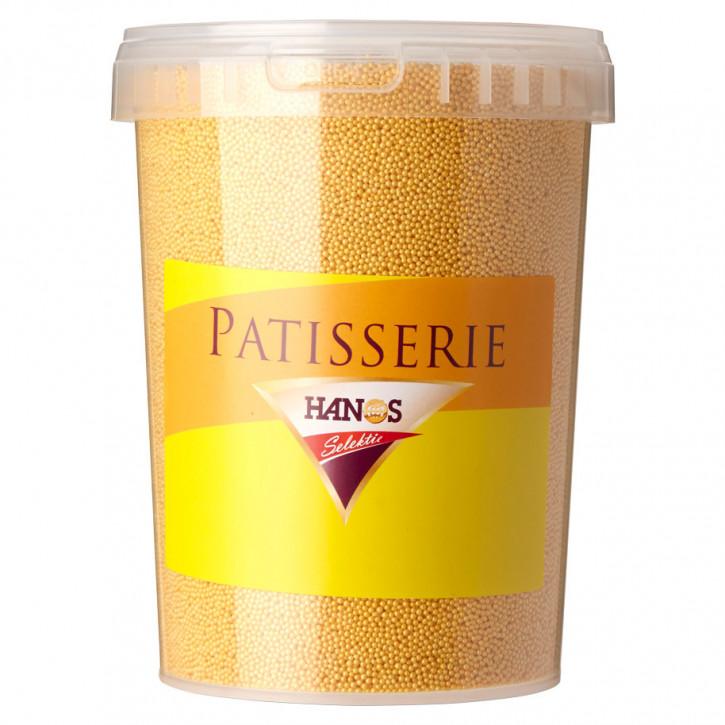 Zuckerdekor Eisstreusel Gold 1,3Kg