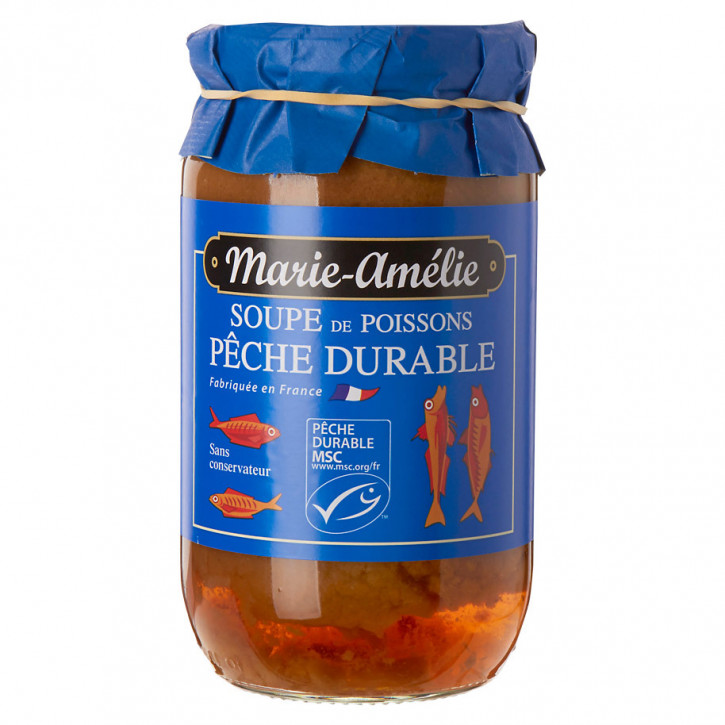 Marie-amélie Fischsuppe aus nachhaltigem fisch 30 % 780g
