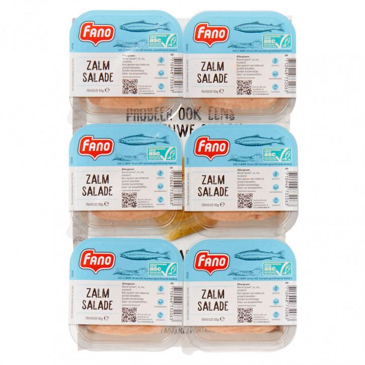 Fano Lachs Salat 6x50g