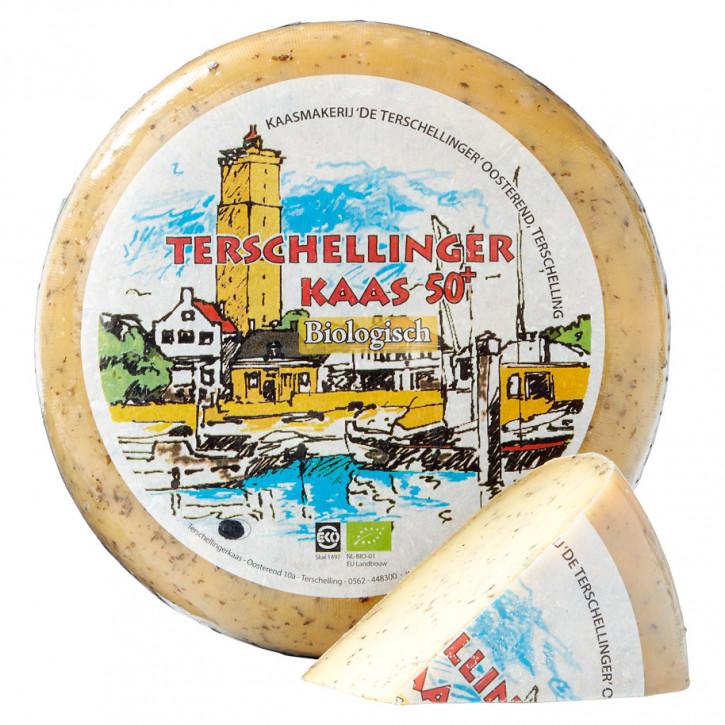 Terschellinger Kaese basil./knobl.biologisch 5Kg