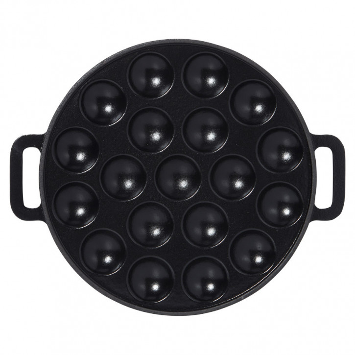 Poffertjes-platte 24cm gusseisen