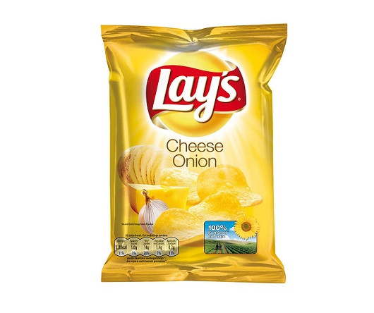 Lays Chips Cheese Onion 20 x 40G