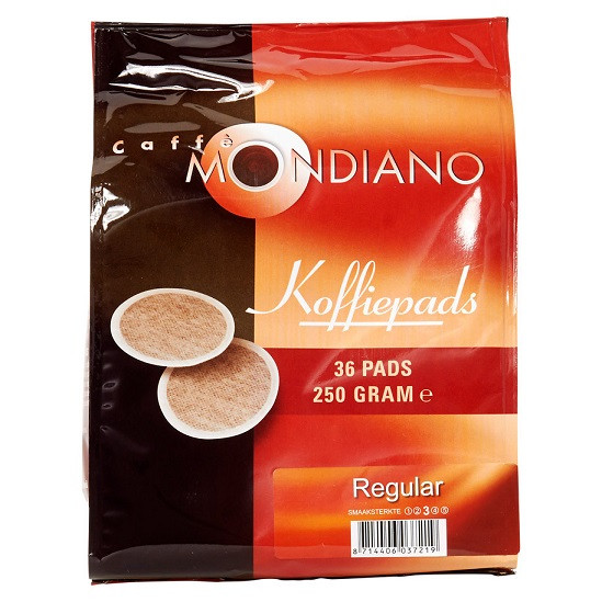 Mondiano Coffee pads 36St