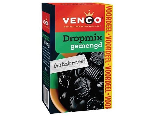 Venco Dropmix Pondspak gemengd Lakritz-Mix 500g