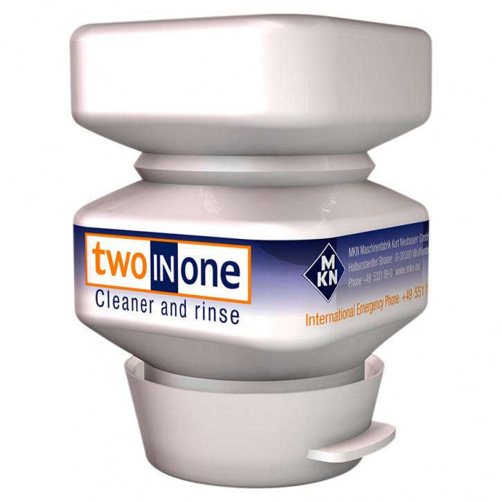 Two-in-one reinigungsmittel