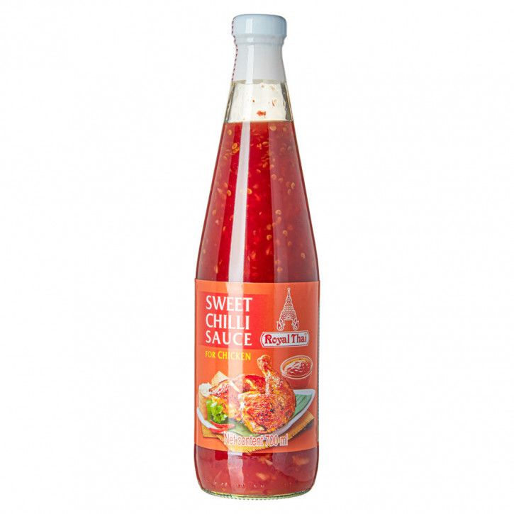 Royal thai Chilisaus zoet v.kip sweet chili sauce 0,7L