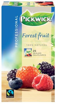 Pickwick Professional Forest Fruit Fairtrade 25 x 1.5  g