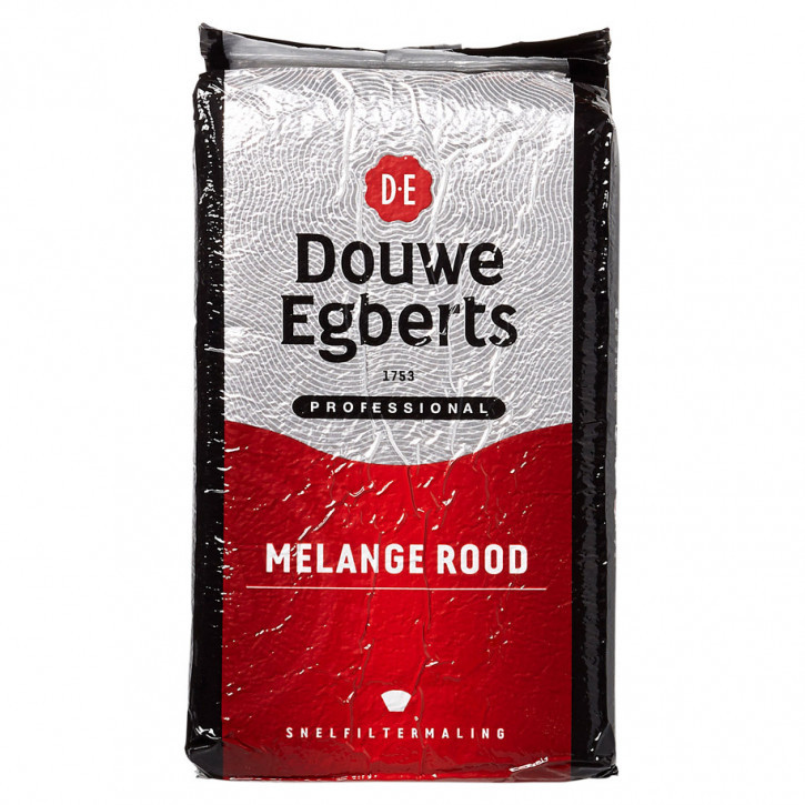 Douwe egberts Koffie melange rood standaard maling 1Kg