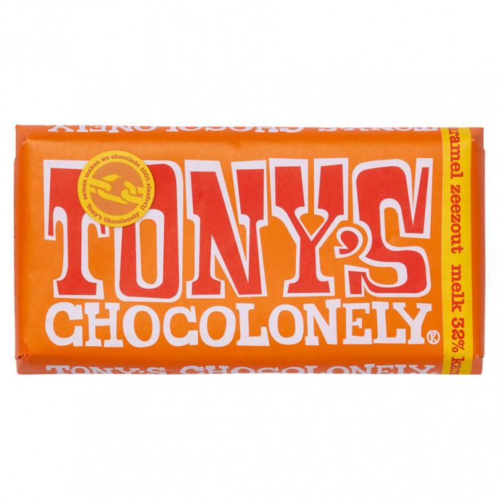 Tony's Melk karamel & zeezout180 g Fairtrade
