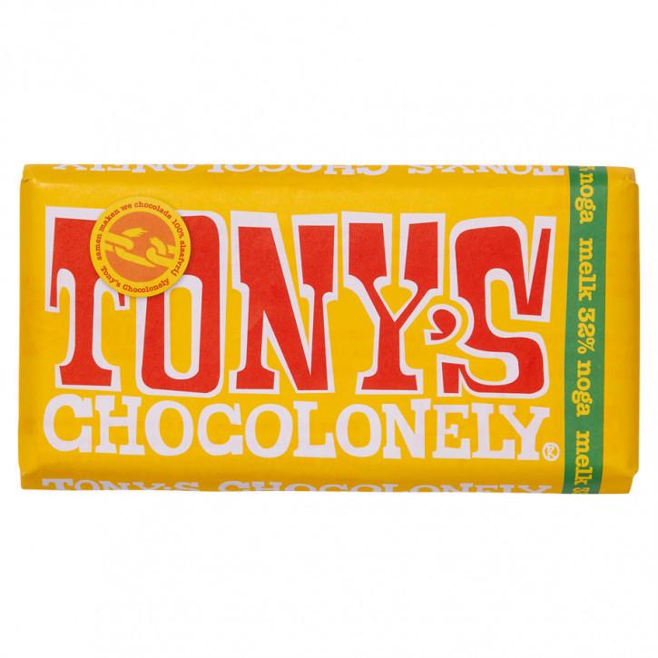 Tony's Milch nugat 180g Fairtrade