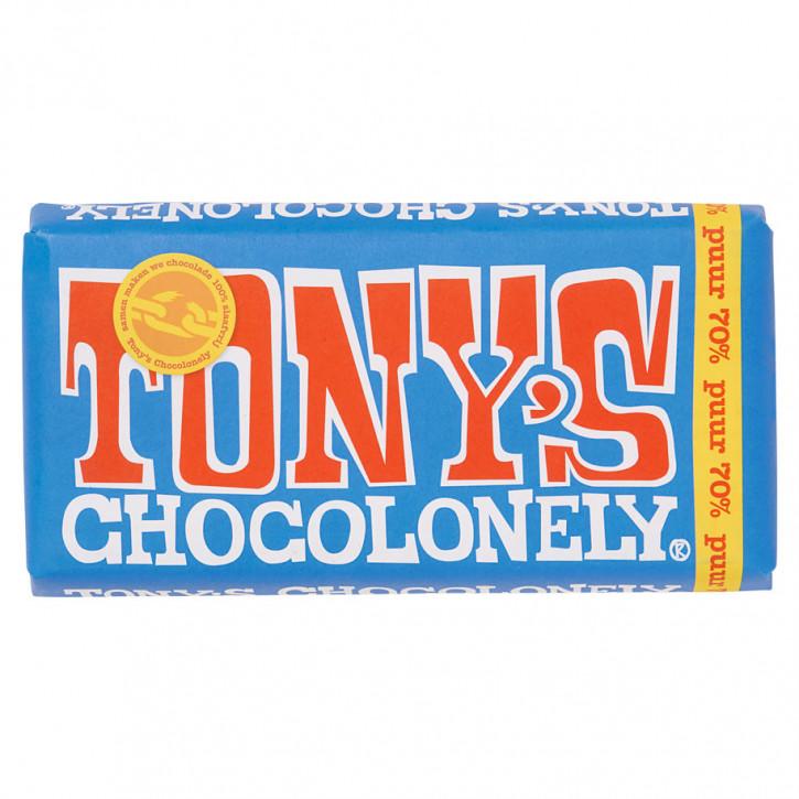 Tony's Pure schokolade 180 g 70% Fairtrade