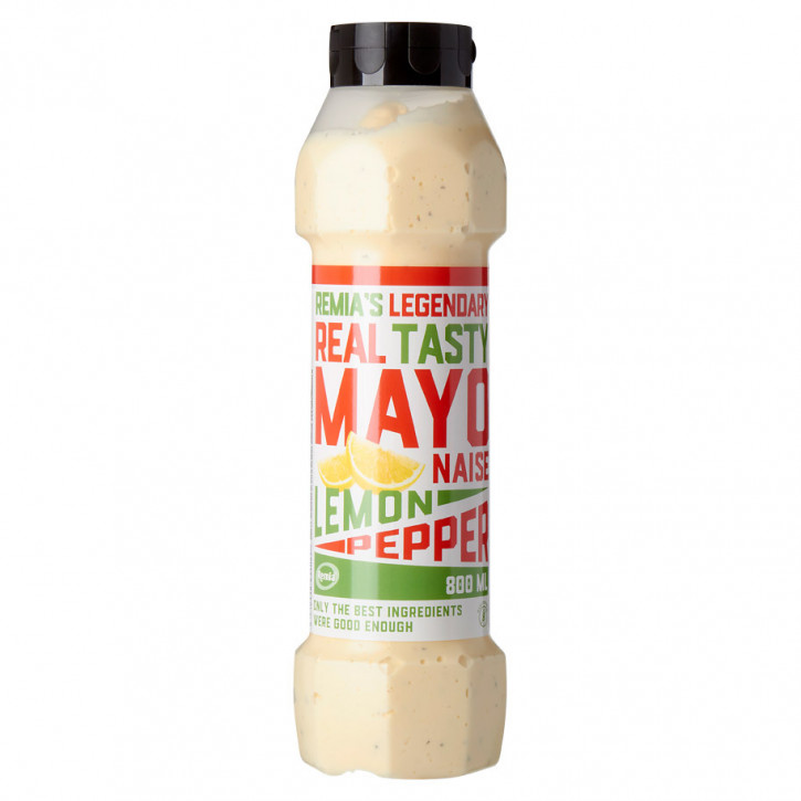 Remia mayo lemon pepper legendary 800ml