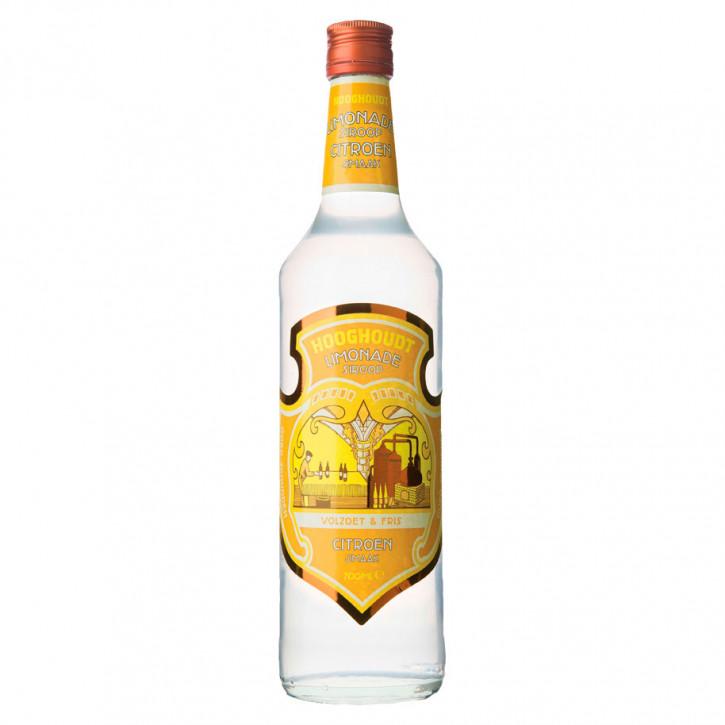 Hooghoudt Limonadesiroop Citroen  0,7L