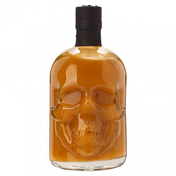 Saus.Guru's Skull Hot Sauce Mexican Habanero Fever 0,5 Liter