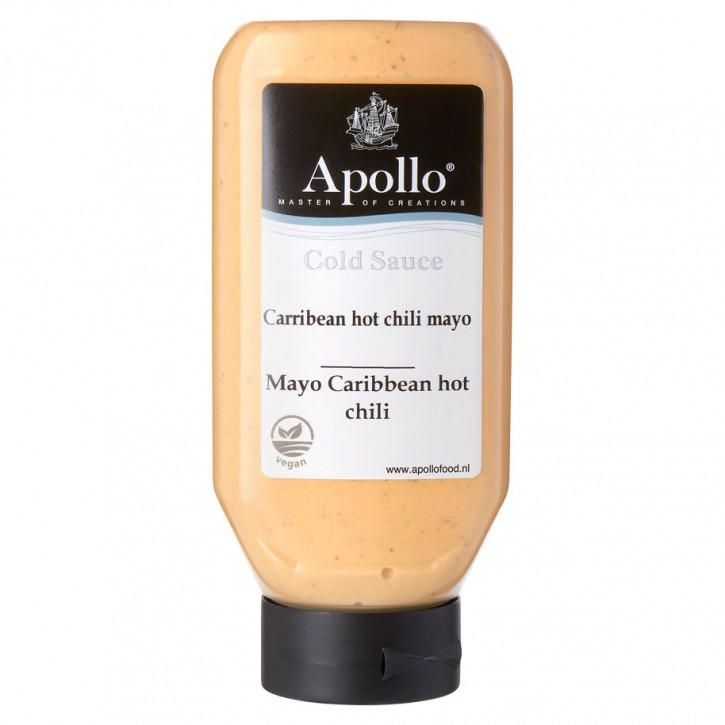 Vegan hot mayo caribbean chili Apollo