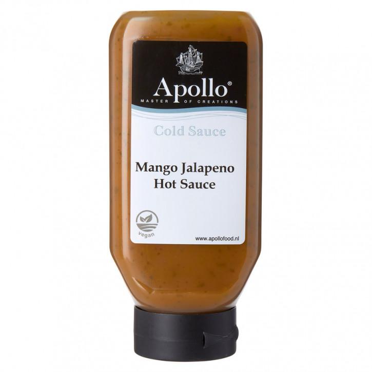 Vegan hot sauce mango jalapeno Apollo