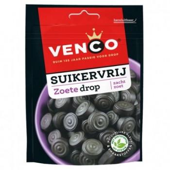 Vegan Venco Suikervrije zoete drop 100g