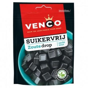 Vegan Venco Suikervrije zoute drop 100g