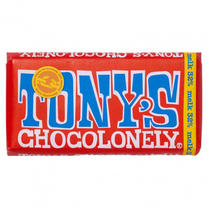 Tony's Vollmilchschokolade 180g Fairtrade