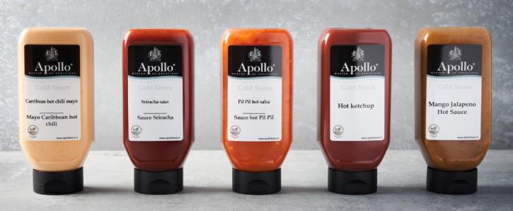 Vegan 5x Apollo Saucen