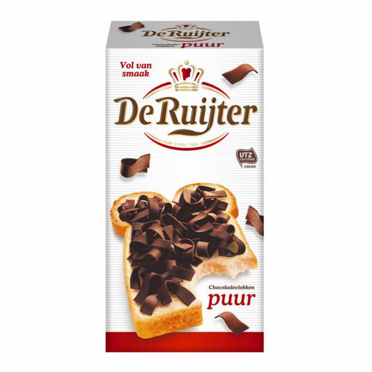 De Ruijter Vlokken Puur Zartbitter Schokoladen Flocken 300g