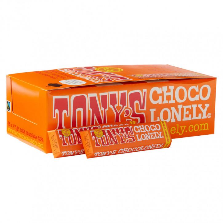 Tony's choco melkchoco karamel zeezout 47g